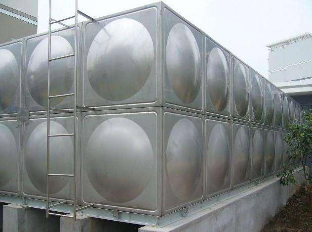 10吨组合式不锈钢水箱